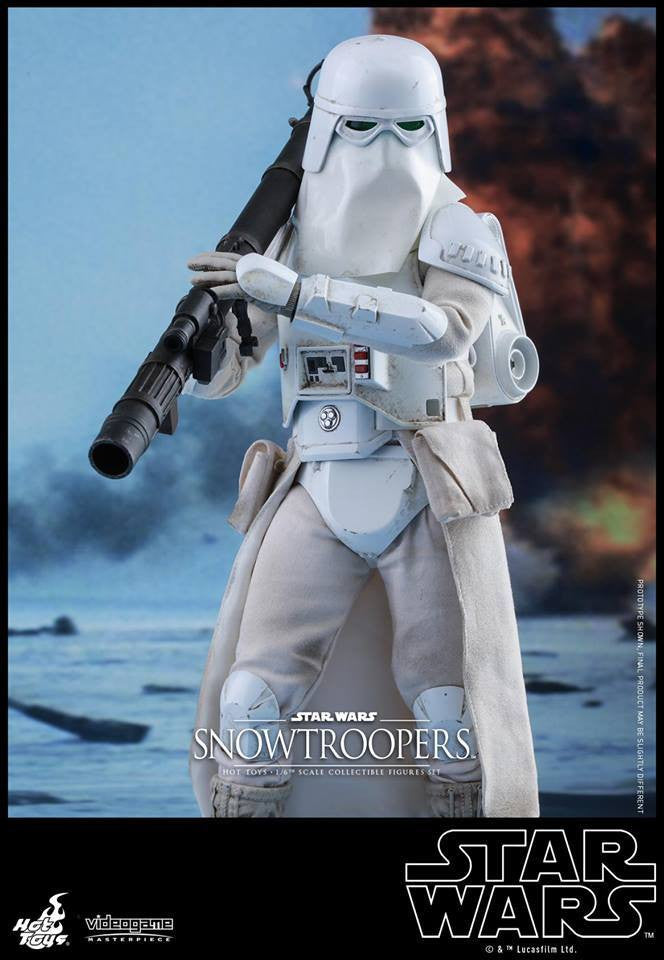 Hot Toys - VGM25 - Star Wars Battlefront - Snowtroopers Set - Marvelous Toys - 9