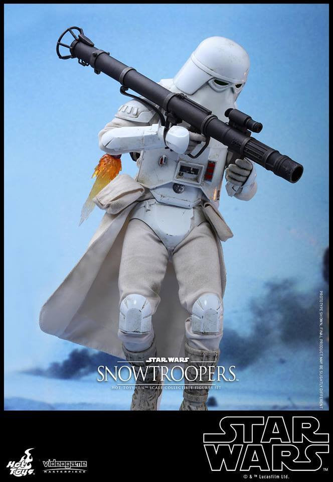 Hot Toys - VGM25 - Star Wars Battlefront - Snowtroopers Set - Marvelous Toys - 10