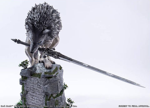 First 4 Figures - Dark Souls - Sif The Great Grey Wolf Statue - Marvelous Toys - 2