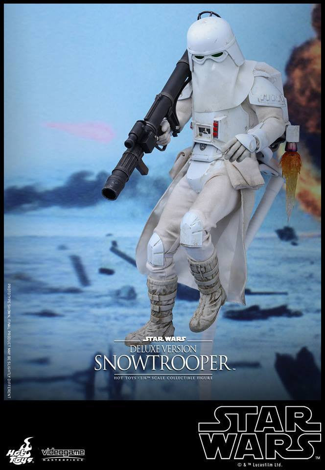 Hot Toys - VGM24 - Star Wars Battlefront - Snowtrooper (Deluxe Version) - Marvelous Toys - 1