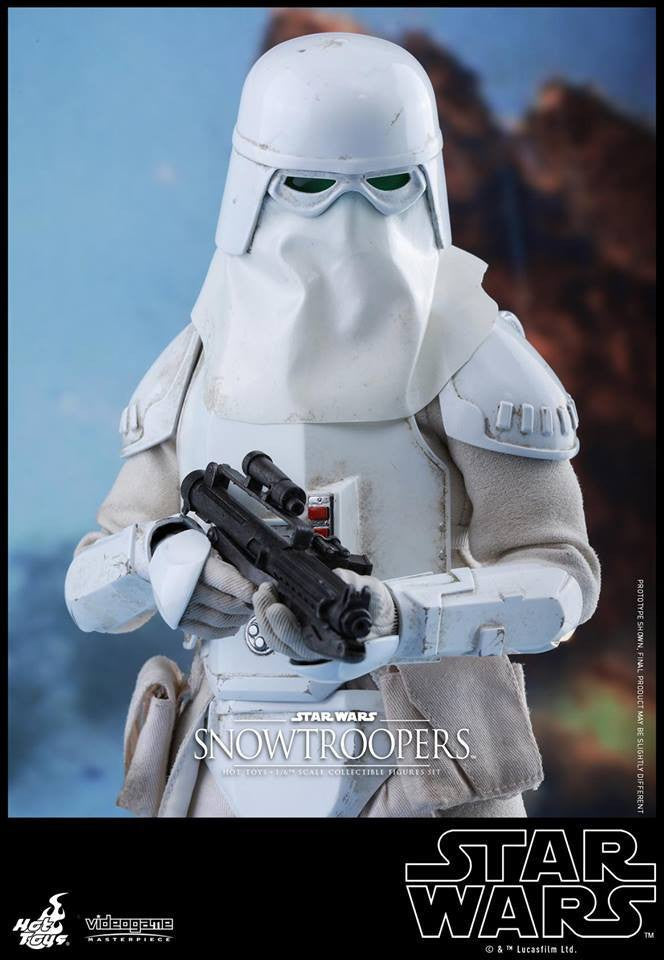 Hot Toys - VGM25 - Star Wars Battlefront - Snowtroopers Set - Marvelous Toys - 12