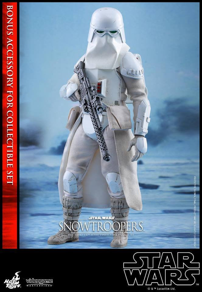 Hot Toys - VGM25 - Star Wars Battlefront - Snowtroopers Set - Marvelous Toys - 3