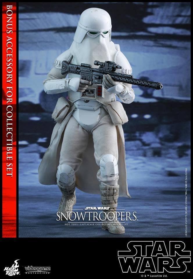 Hot Toys - VGM25 - Star Wars Battlefront - Snowtroopers Set - Marvelous Toys - 4