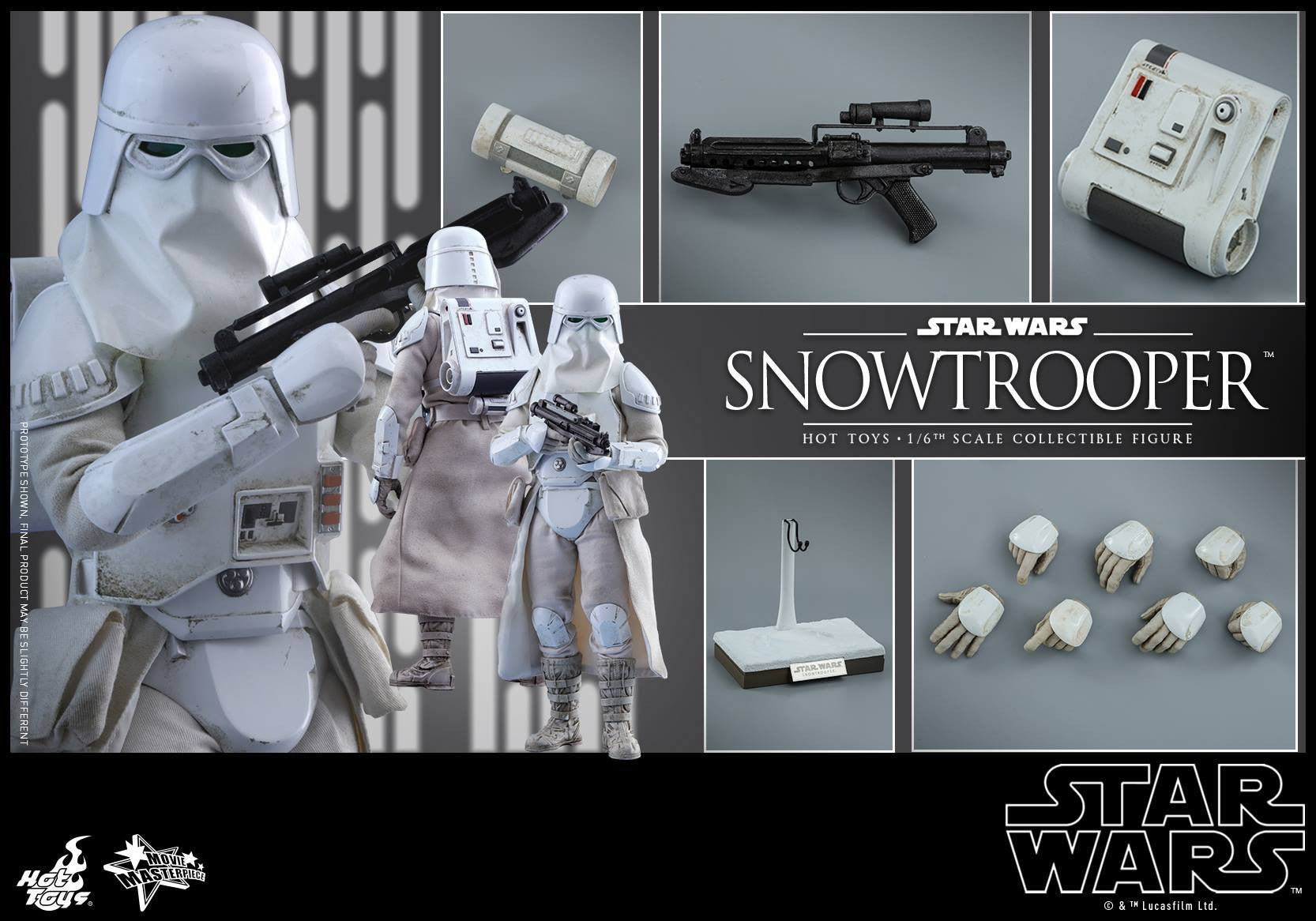 Hot Toys - MMS397 - Star Wars Episode V: The Empire Strikes Back - Snowtrooper - Marvelous Toys - 11