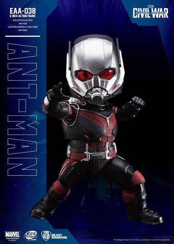 Egg Attack Action - EAA-038 - Captain America: Civil War - Ant-Man - Marvelous Toys - 1