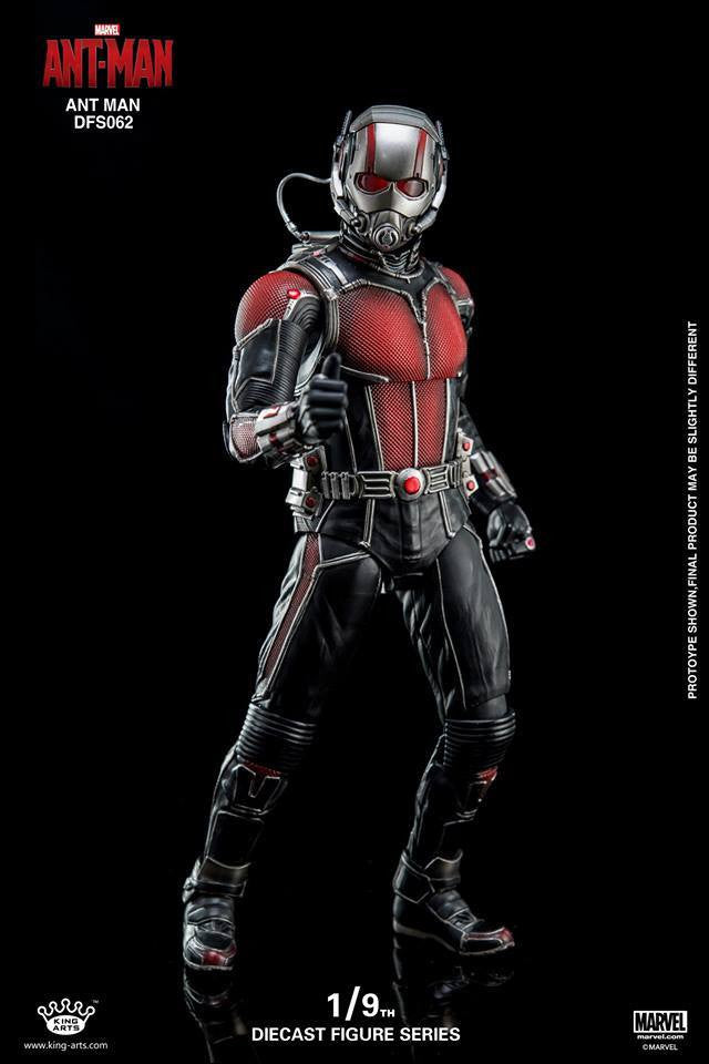 King Arts - DFS062 - Ant-Man - Ant-Man - Marvelous Toys - 1