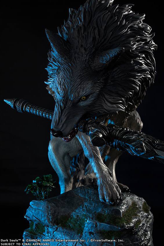 First 4 Figures - Dark Souls - Sif The Great Grey Wolf Statue - Marvelous Toys - 6