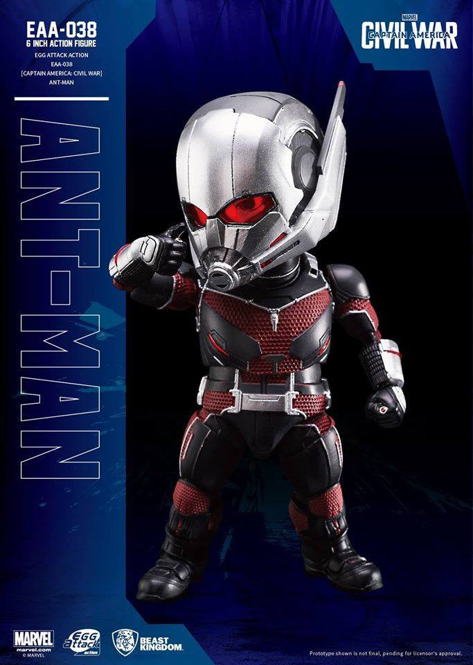 Egg Attack Action - EAA-038 - Captain America: Civil War - Ant-Man - Marvelous Toys - 3