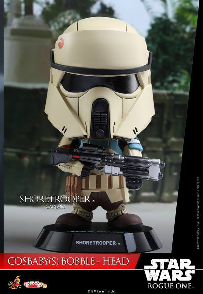 Hot Toys - COSB332 - Rogue One: A Star Wars Story - Shoretrooper Captain Cosbaby Bobble-Head - Marvelous Toys - 1