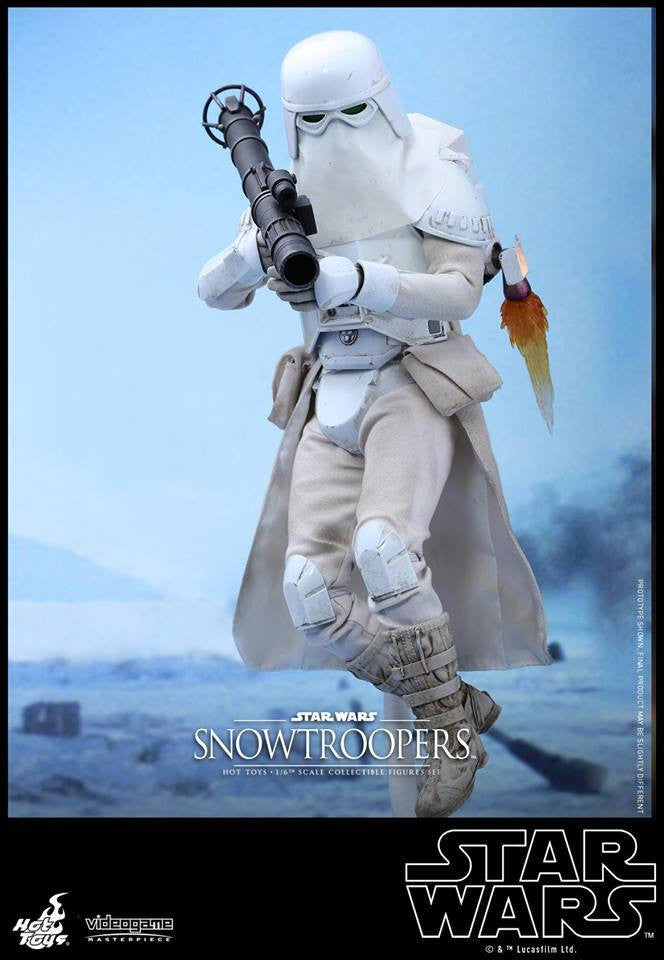 Hot Toys - VGM25 - Star Wars Battlefront - Snowtroopers Set - Marvelous Toys - 13