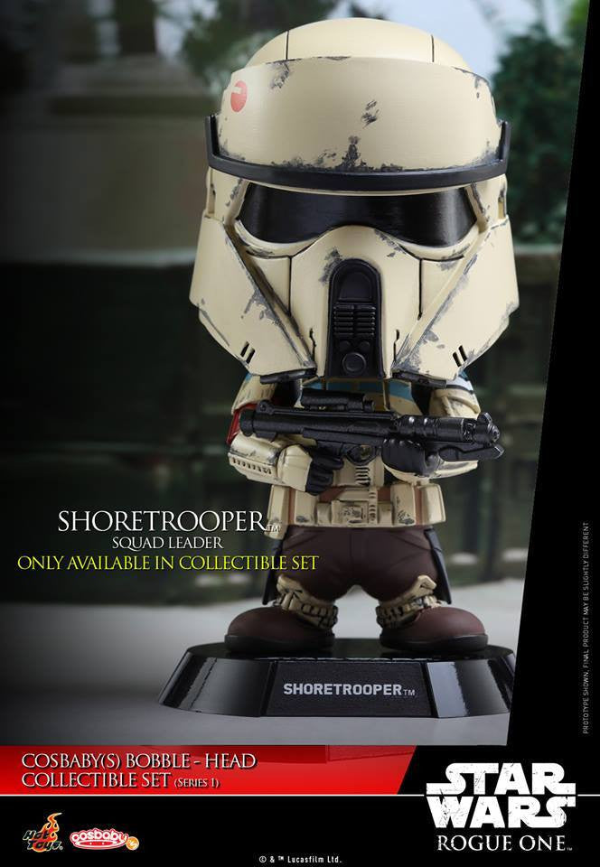 (IN STOCK) Hot Toys - COSB335 - Rogue One: A Star Wars Story - Cosbaby Bobble-Head (Series 1) Set of 6 - Marvelous Toys - 18
