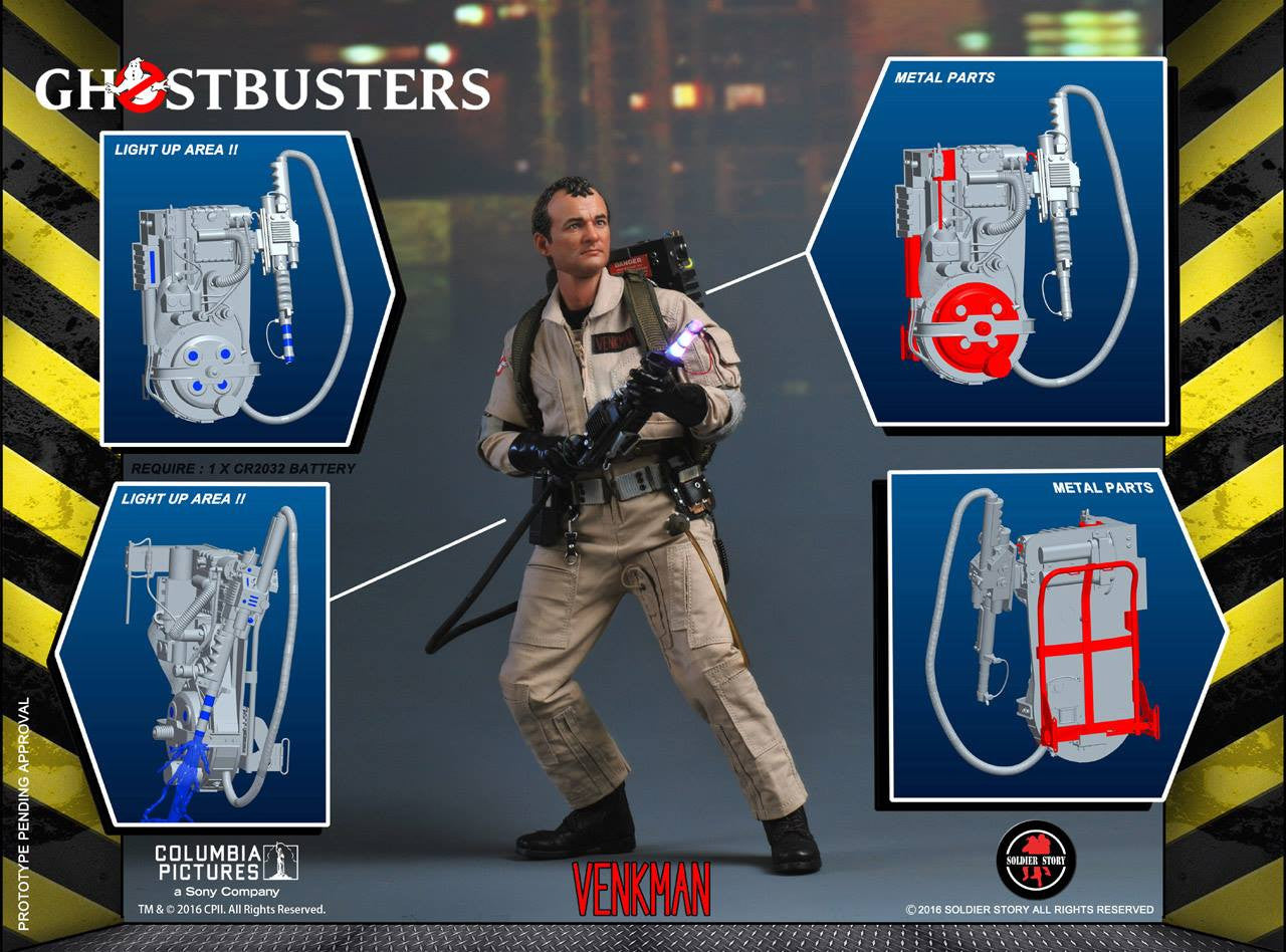 Soldier Story - GBI001 - Ghostbusters - Dr. Peter Venkman (Special Edition) - Marvelous Toys - 3