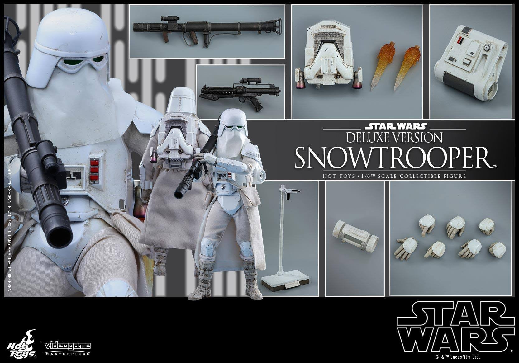 Hot Toys - VGM24 - Star Wars Battlefront - Snowtrooper (Deluxe Version) - Marvelous Toys - 2