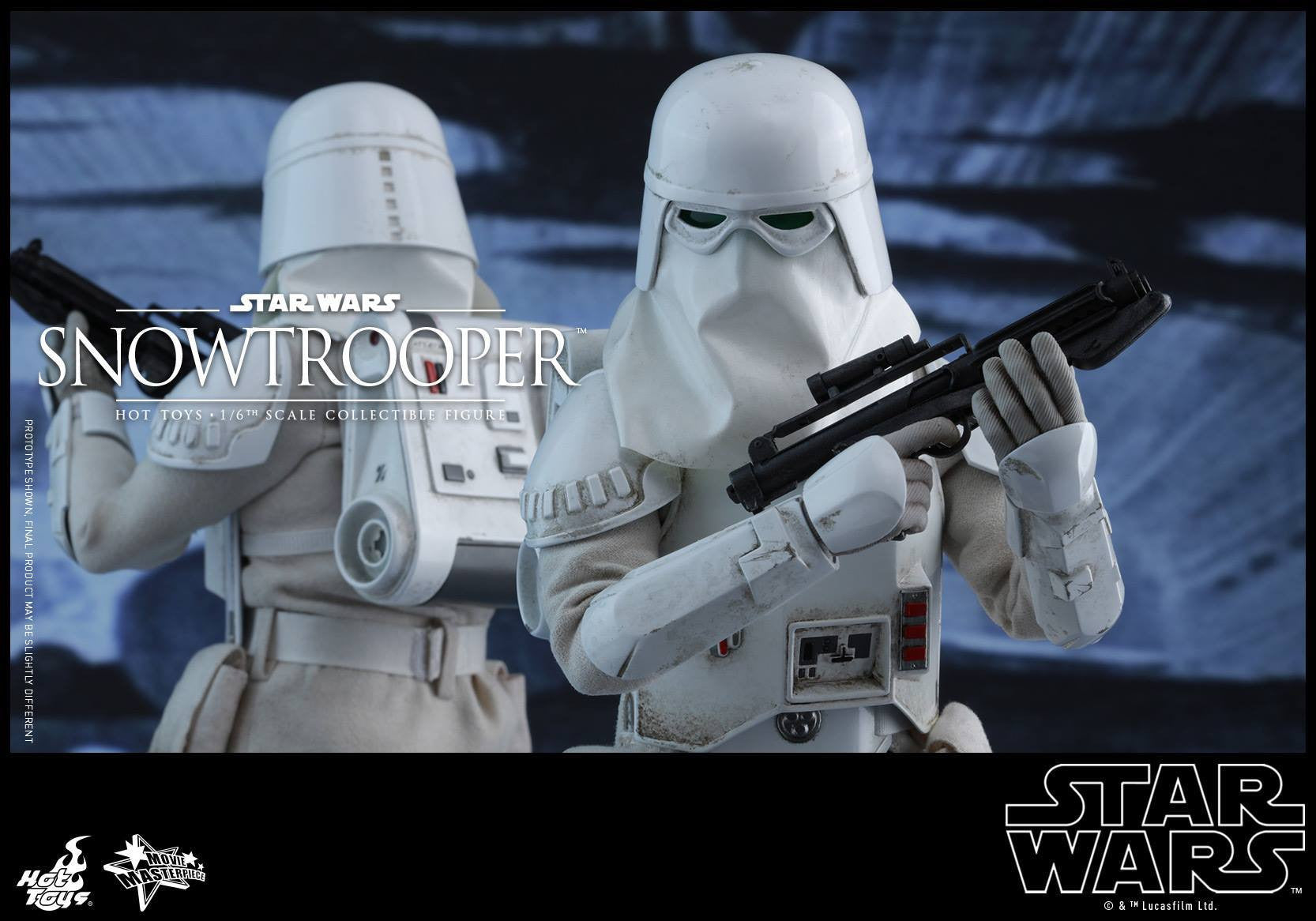 Hot Toys - MMS397 - Star Wars Episode V: The Empire Strikes Back - Snowtrooper - Marvelous Toys - 9