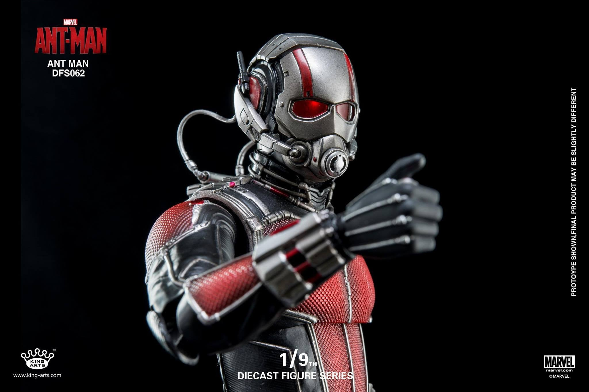 King Arts - DFS062 - Ant-Man - Ant-Man - Marvelous Toys - 5