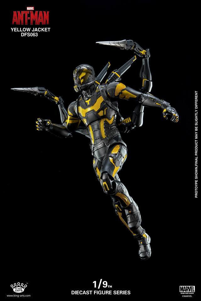 King Arts - DFS063 - Ant-Man - Yellow Jacket - Marvelous Toys - 4