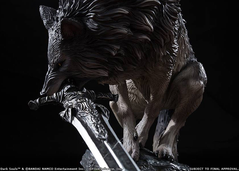 First 4 Figures - Dark Souls - Sif The Great Grey Wolf Statue - Marvelous Toys - 7