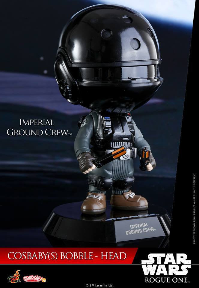 (IN STOCK) Hot Toys - COSB331 - Rogue One: A Star Wars Story - Imperial Ground Crew Cosbaby Bobble-Head - Marvelous Toys - 1