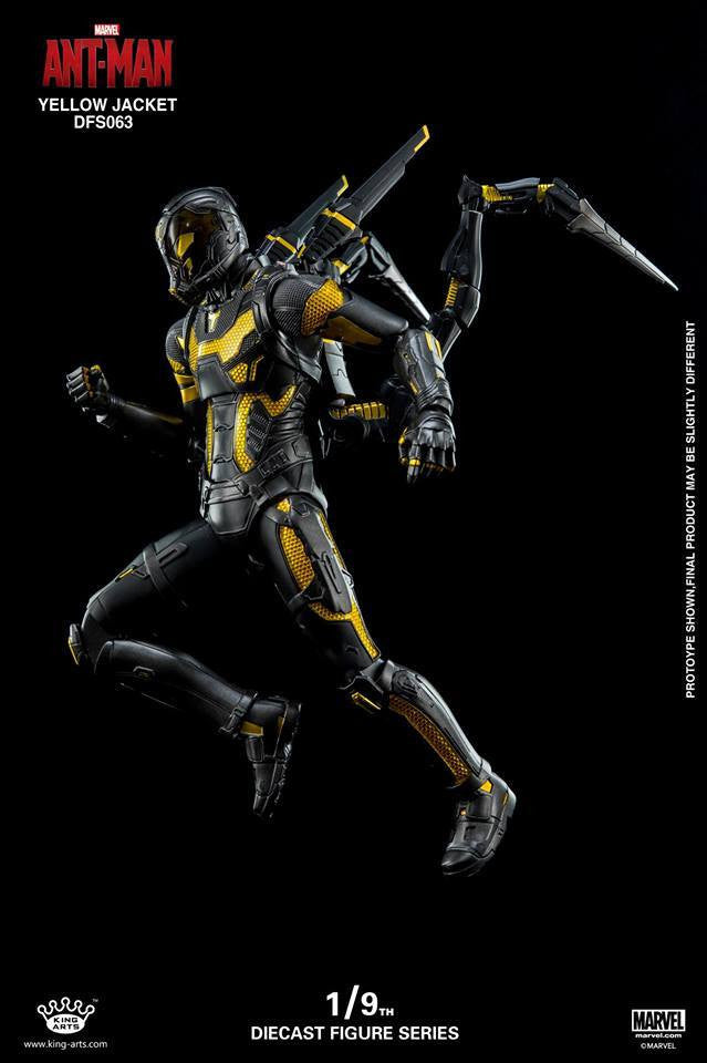 King Arts - DFS063 - Ant-Man - Yellow Jacket - Marvelous Toys - 5