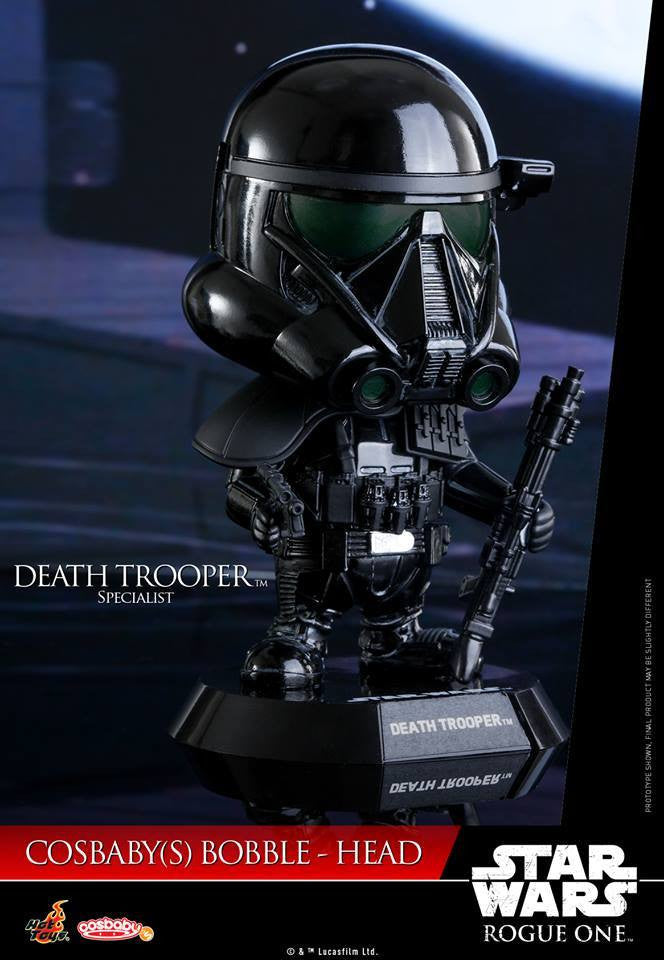 Hot Toys - COSB329 - Rogue One: A Star Wars Story - Death Trooper Specialist Cosbaby Bobble-Head - Marvelous Toys - 1