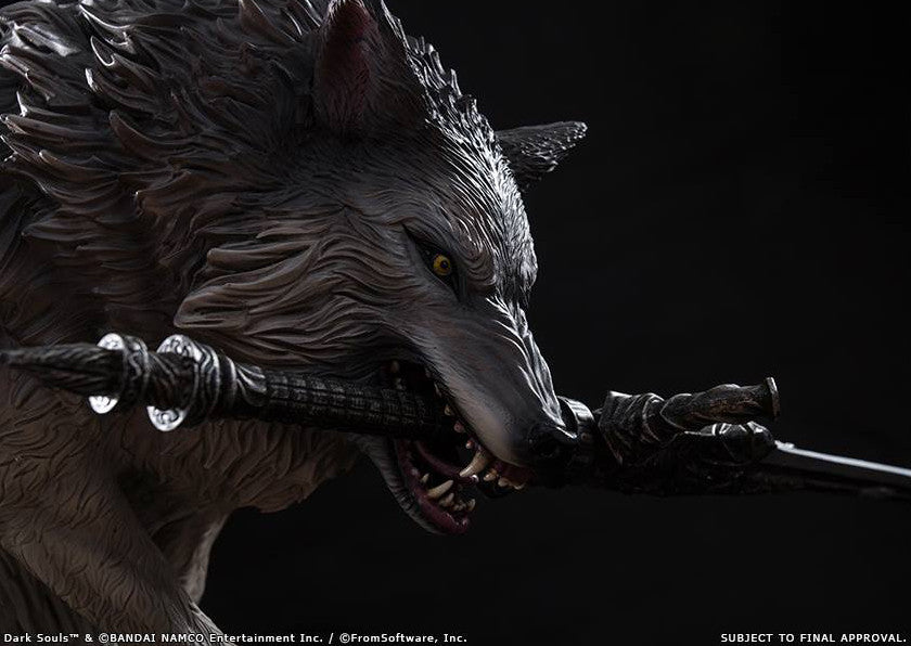 First 4 Figures - Dark Souls - Sif The Great Grey Wolf Statue - Marvelous Toys - 10