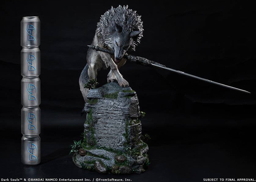 First 4 Figures - Dark Souls - Sif The Great Grey Wolf Statue - Marvelous Toys - 11