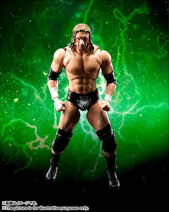 S.H.Figuarts - WWE - Triple H - Marvelous Toys - 1