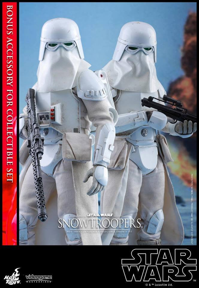 Hot Toys - VGM25 - Star Wars Battlefront - Snowtroopers Set - Marvelous Toys - 1