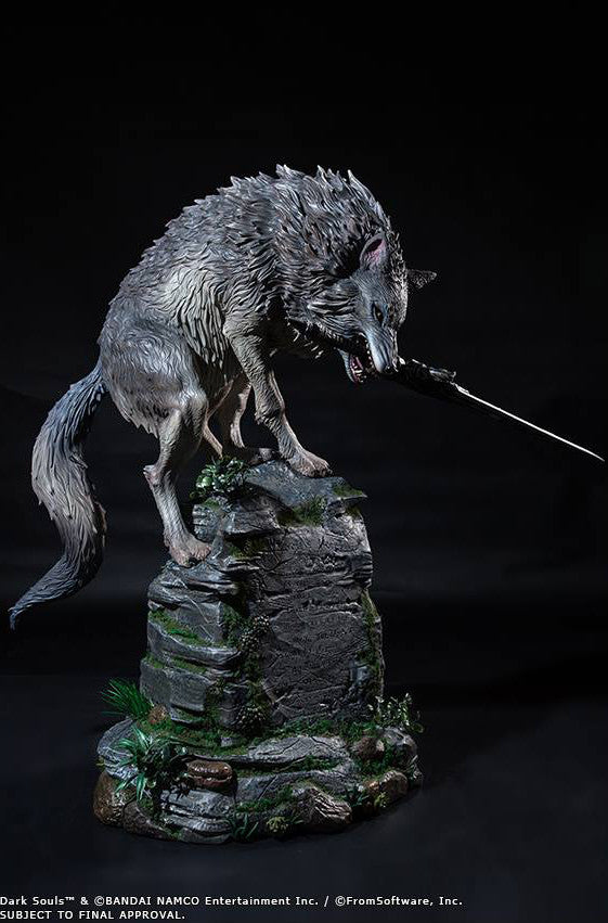 First 4 Figures - Dark Souls - Sif The Great Grey Wolf Statue - Marvelous Toys - 12