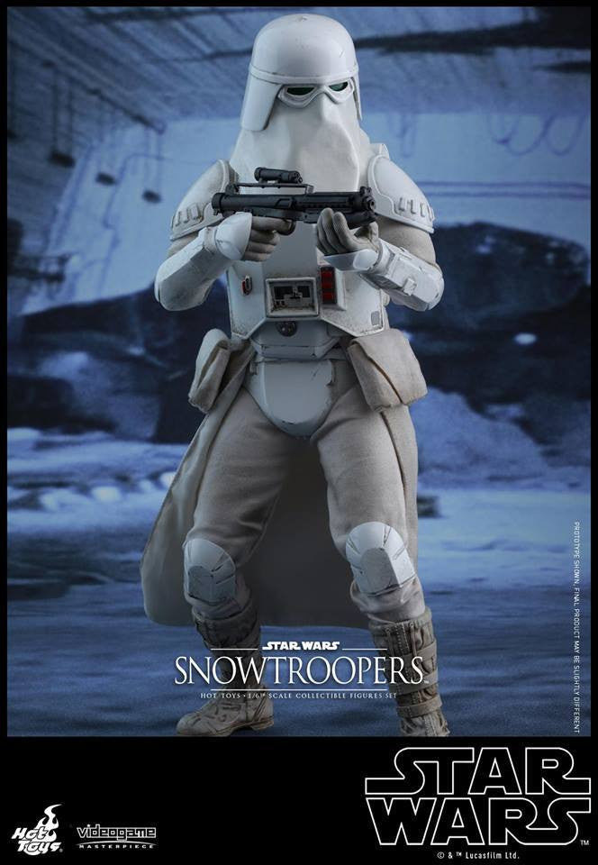 Hot Toys - VGM25 - Star Wars Battlefront - Snowtroopers Set - Marvelous Toys - 14