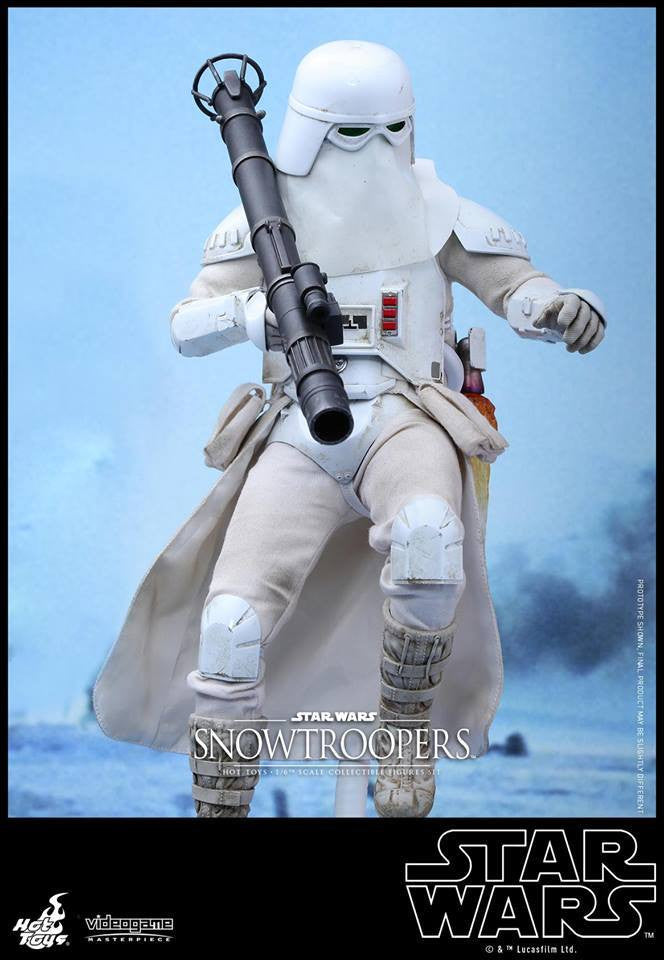Hot Toys - VGM25 - Star Wars Battlefront - Snowtroopers Set - Marvelous Toys - 15