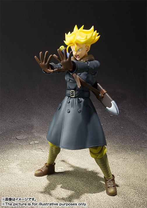 S.H.Figuarts - Dragon Ball Xenoverse 2 - Trunks XENOVERSE Edition - Marvelous Toys - 3