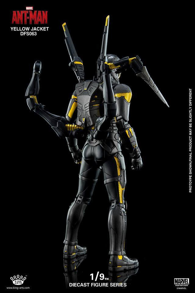 King Arts - DFS063 - Ant-Man - Yellow Jacket - Marvelous Toys - 6