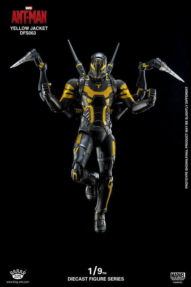 King Arts - DFS063 - Ant-Man - Yellow Jacket - Marvelous Toys - 7