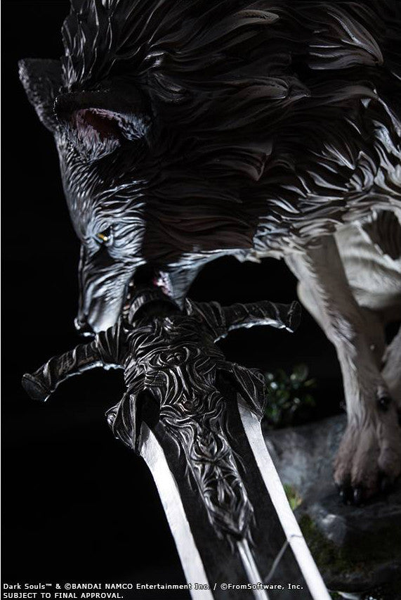 First 4 Figures - Dark Souls - Sif The Great Grey Wolf Statue - Marvelous Toys - 14