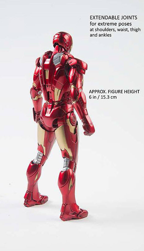 Comicave Studios - Omni Class: 1/12 Scale Iron Man Mark 7 (VII) - Marvelous Toys - 4