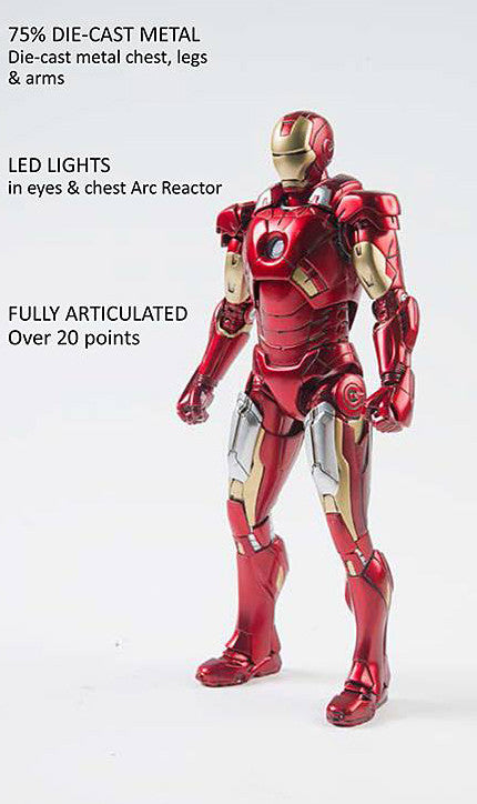 Comicave Studios - Omni Class: 1/12 Scale Iron Man Mark 7 (VII) - Marvelous Toys - 2