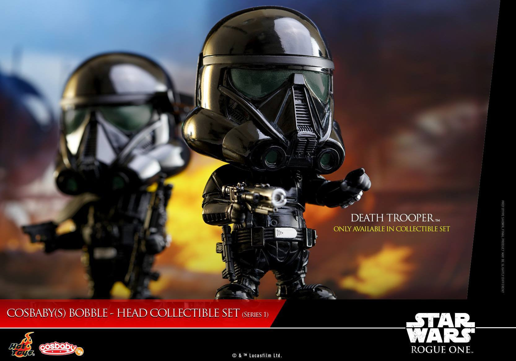 (IN STOCK) Hot Toys - COSB335 - Rogue One: A Star Wars Story - Cosbaby Bobble-Head (Series 1) Set of 6 - Marvelous Toys - 5