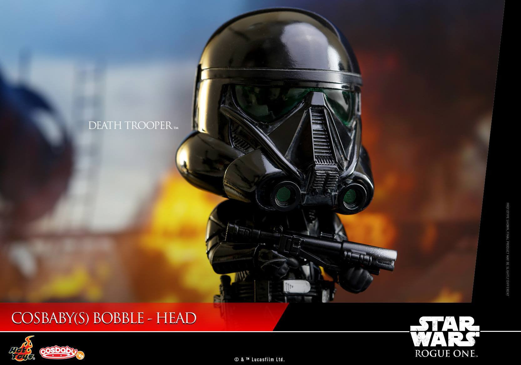 (IN STOCK) Hot Toys - COSB330 - Rogue One: A Star Wars Story - Death Trooper Cosbaby Bobble-Head - Marvelous Toys - 4