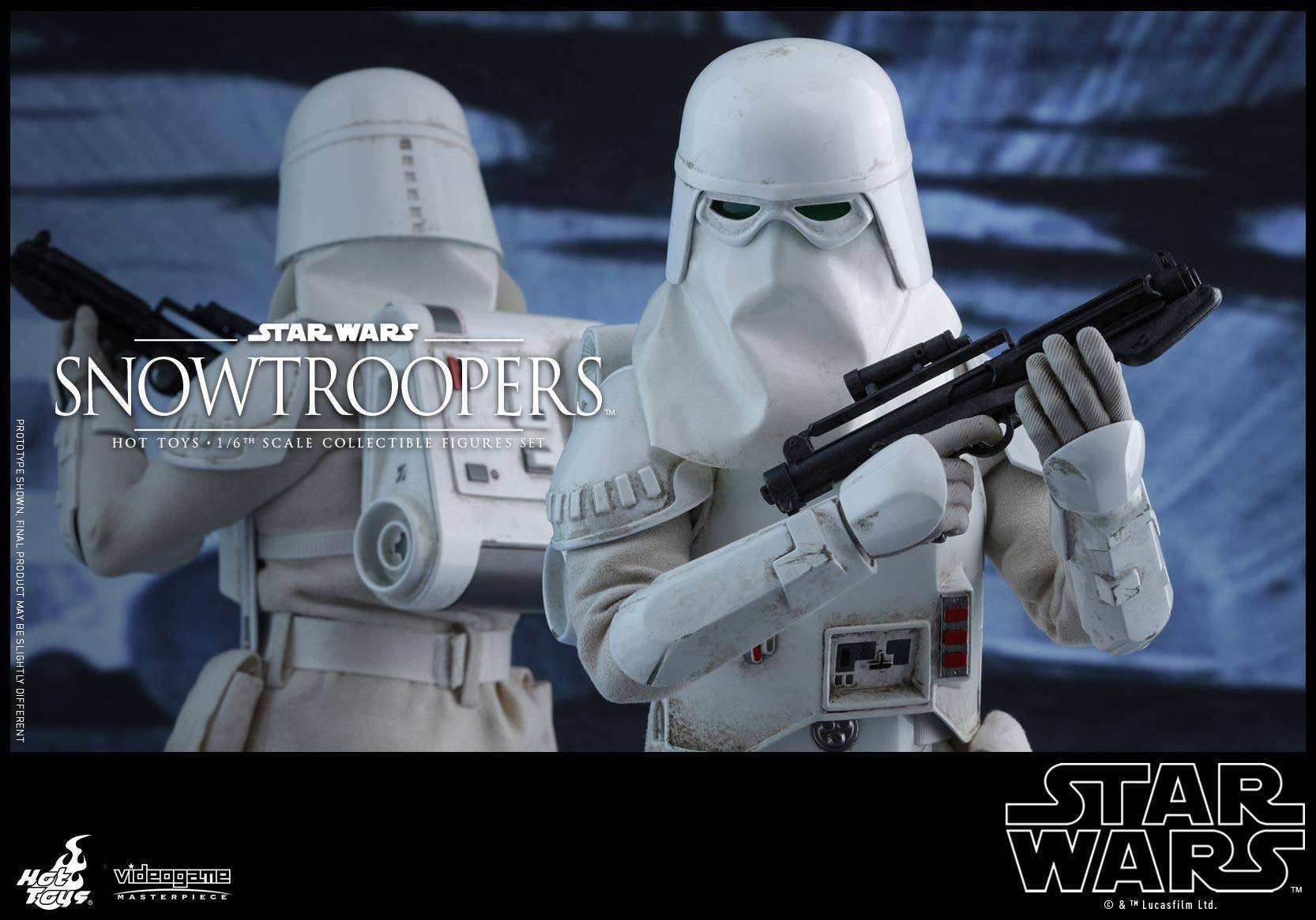 Hot Toys - VGM25 - Star Wars Battlefront - Snowtroopers Set - Marvelous Toys - 5