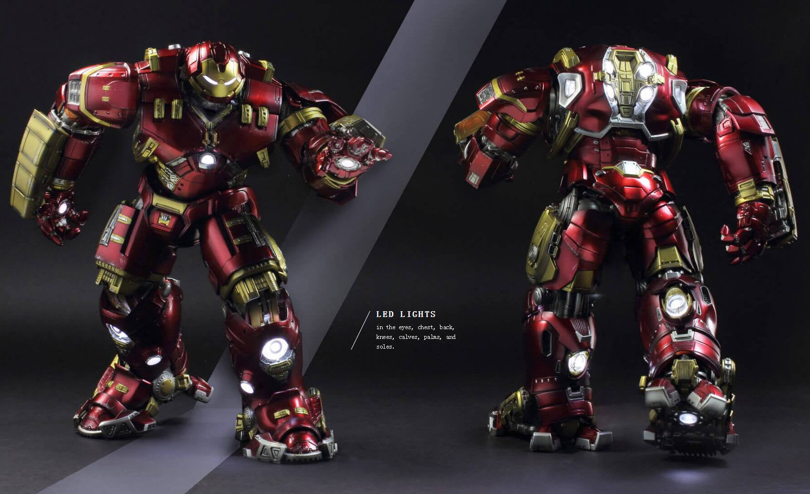 Comicave Studios - Omni Class: 1/12 Scale Iron Man Mark 44 (XLIV) (Hulkbuster) - Marvelous Toys - 4