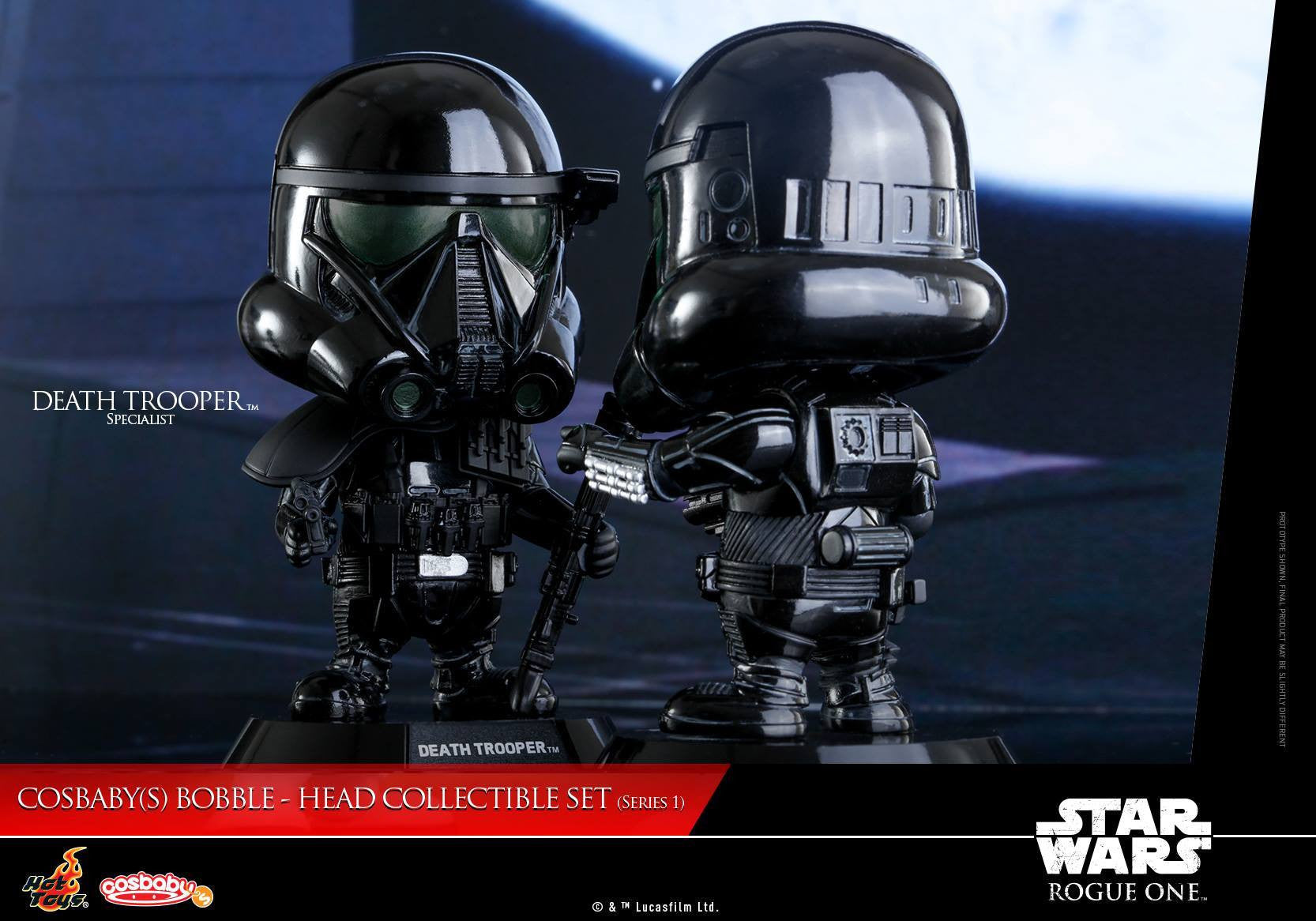 (IN STOCK) Hot Toys - COSB335 - Rogue One: A Star Wars Story - Cosbaby Bobble-Head (Series 1) Set of 6 - Marvelous Toys - 2