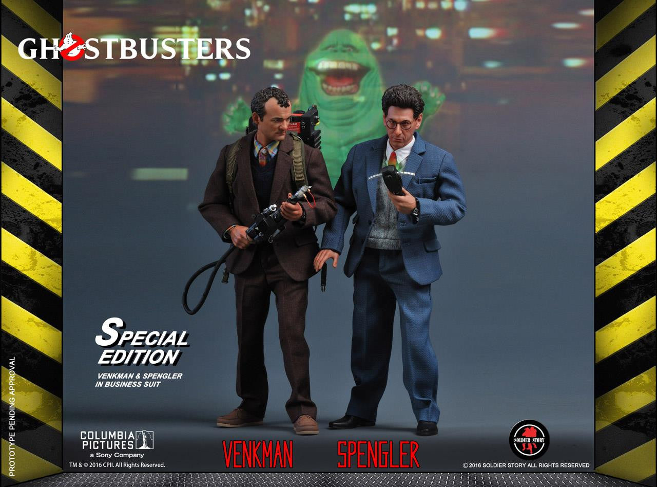 Soldier Story - GBI001 - Ghostbusters - Dr. Peter Venkman (Special Edition) - Marvelous Toys - 5