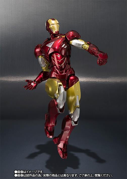 S.H.Figuarts - Iron Man - Iron Man Mark VI (6) (TamashiiWeb Exclusive) - Marvelous Toys - 1