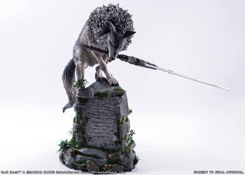 First 4 Figures - Dark Souls - Sif The Great Grey Wolf Statue - Marvelous Toys - 16