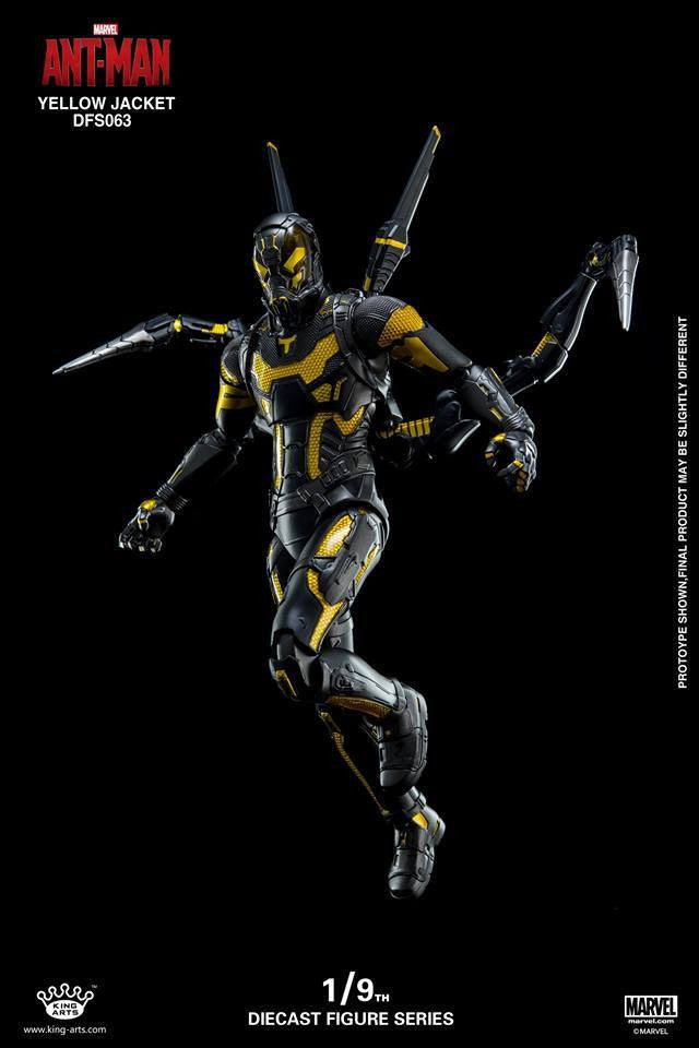 King Arts - DFS063 - Ant-Man - Yellow Jacket - Marvelous Toys - 8