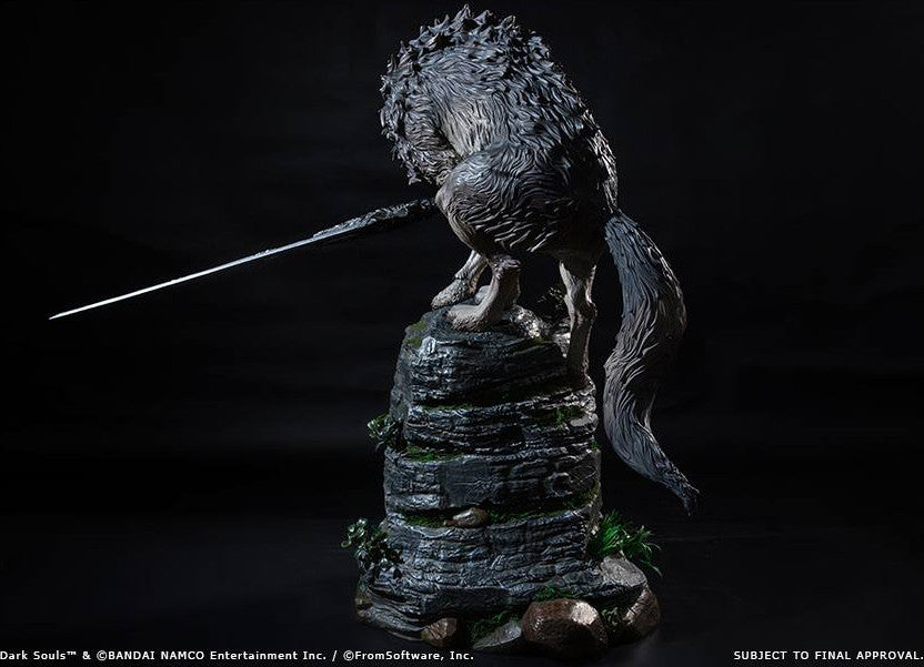 First 4 Figures - Dark Souls - Sif The Great Grey Wolf Statue - Marvelous Toys - 17