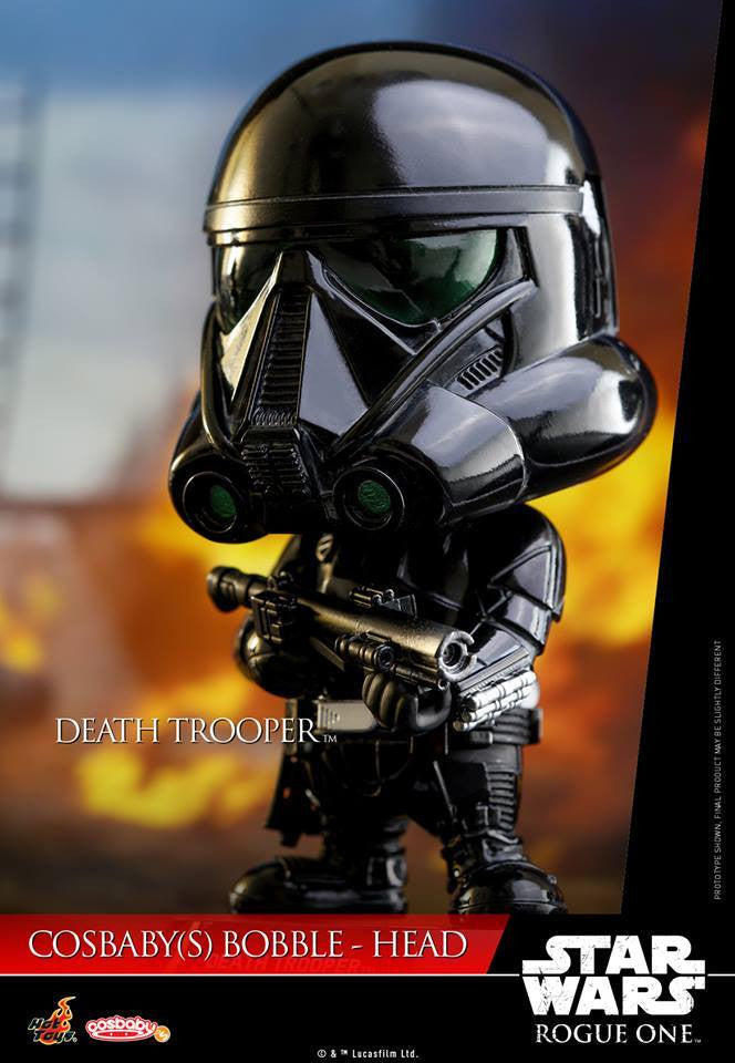 (IN STOCK) Hot Toys - COSB330 - Rogue One: A Star Wars Story - Death Trooper Cosbaby Bobble-Head - Marvelous Toys - 3