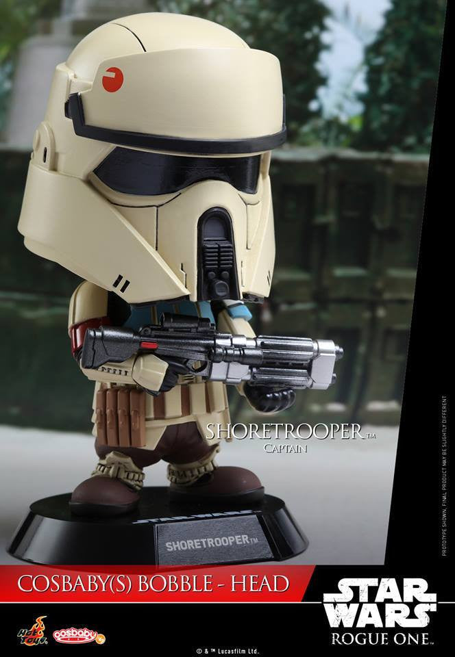 Hot Toys - COSB332 - Rogue One: A Star Wars Story - Shoretrooper Captain Cosbaby Bobble-Head - Marvelous Toys - 2