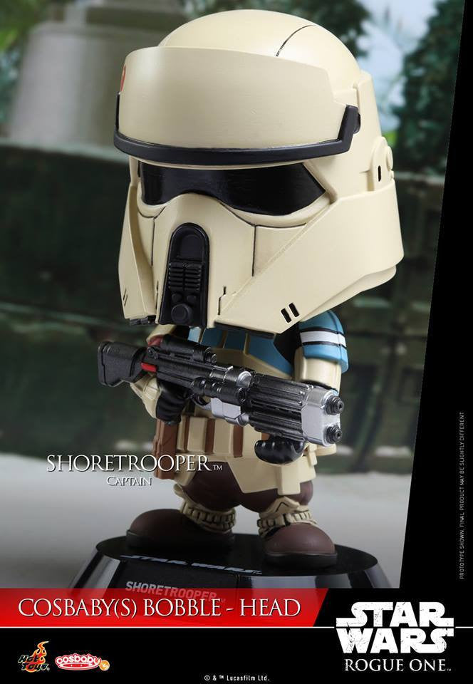 Hot Toys - COSB332 - Rogue One: A Star Wars Story - Shoretrooper Captain Cosbaby Bobble-Head - Marvelous Toys - 3